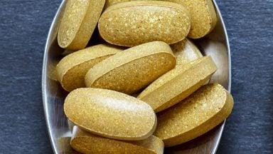 قرص های مکمل ویتامین