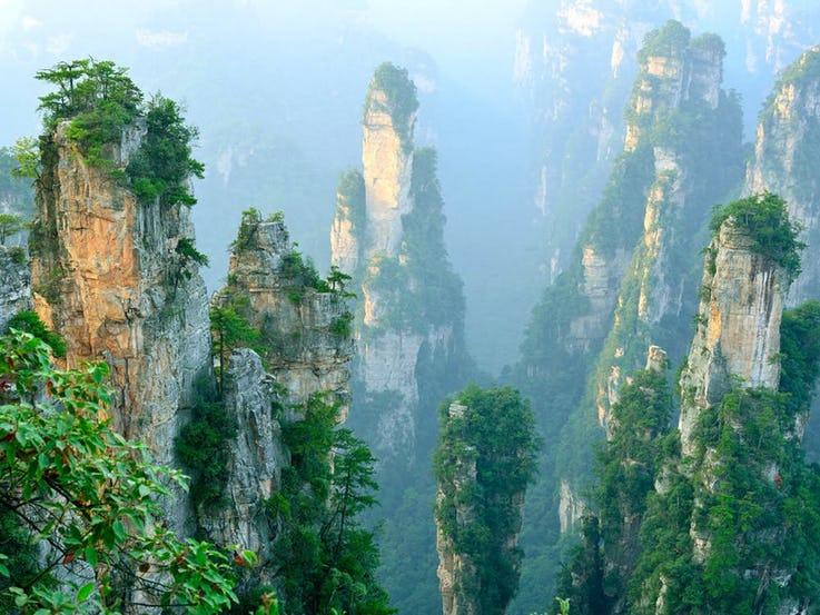 جنگل Wulingyuan در چین