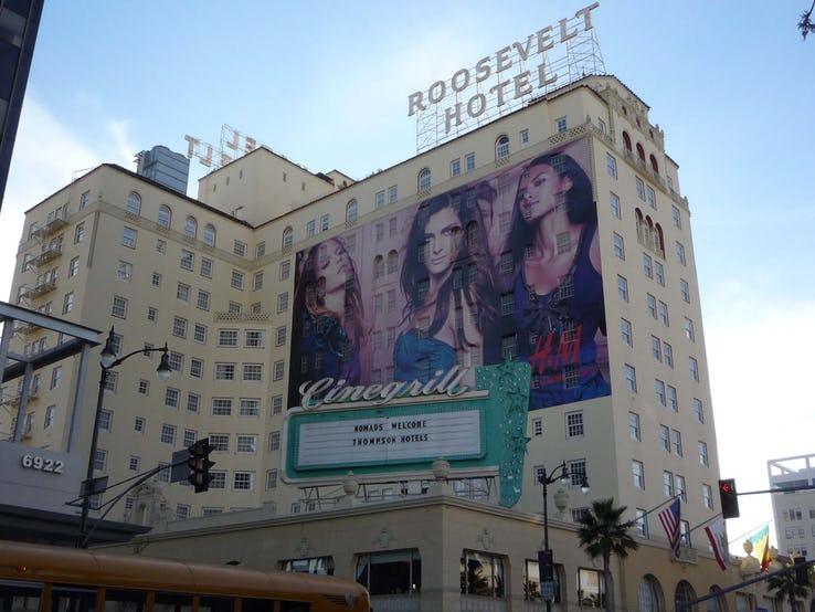 هتل ROOSEVELT در هالیوود، لسآنجلس