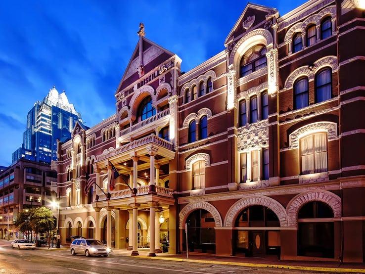 هتل THE DRISKILL در آستین، تگزاس