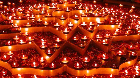 تصاویری زیبا از جشن دیوالی در هند – فستیوال نور و روشنایی