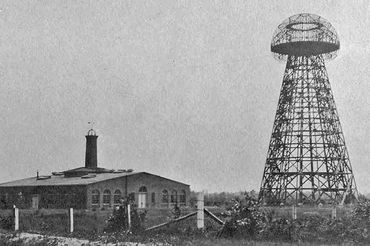 برج معروف نیکولا تسلا