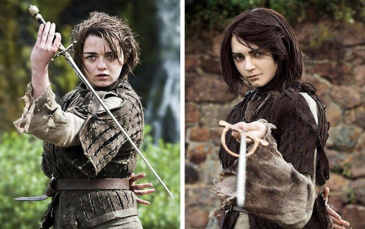 اریا استارک در فیلم Game of Thrones