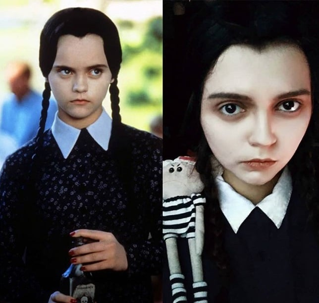 وندزدی در فیلم The Addams Family