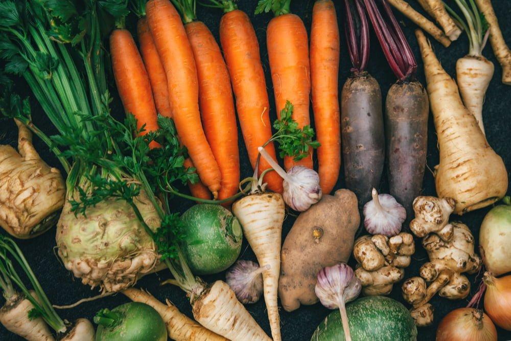 سبزیجات ریشهدار