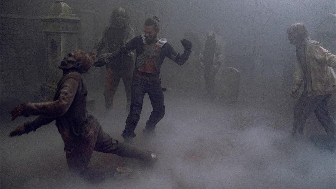 سریال The Walking Dead - جیزز و نحواگران
