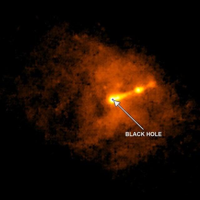 اولین تصویر ثبت شده از یک سیاهچاله