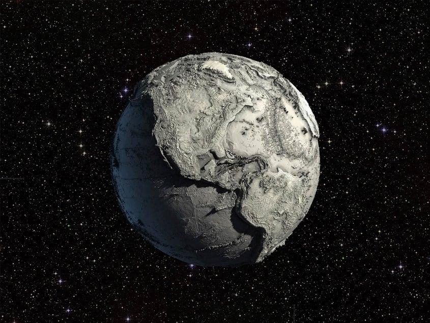 خشکی اقیانوس های زمین