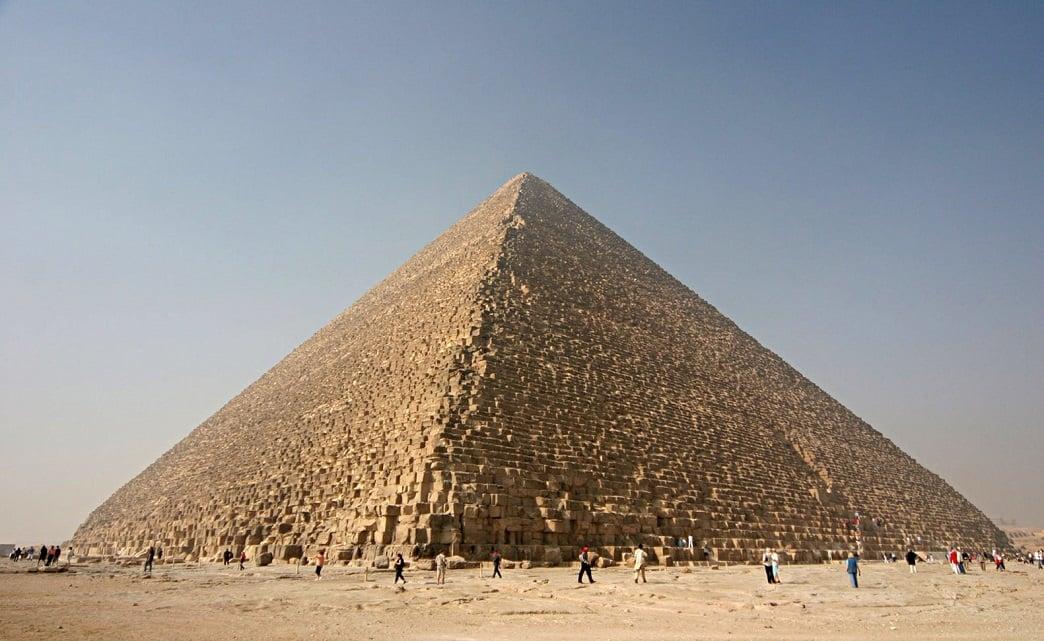 هرم بزرگ گیزا در مصر