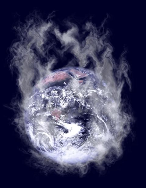 تبخیر کامل آب اقیانوسهای زمین
