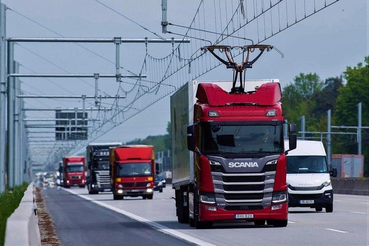 افتتاح بزرگراه برقی در آلمان