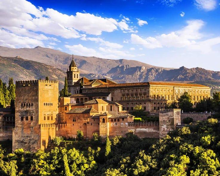 قلعه Alhambra در اسپانیا