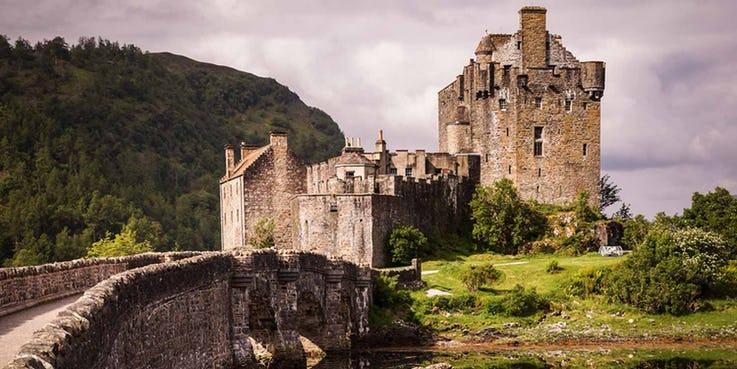 قلعه Eilean Donan در اسکاتلند