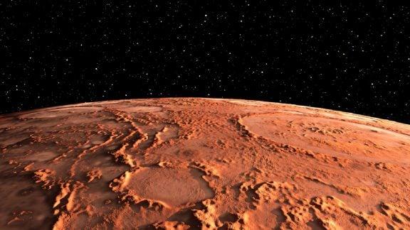عکس جدید: نور سفید مرموز ناشناخته در مریخ چه میتواند باشد