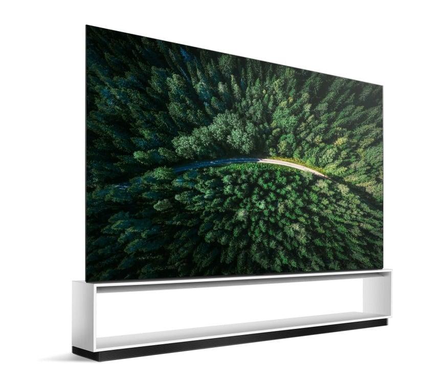 تلویزیون OLED 8K الجی