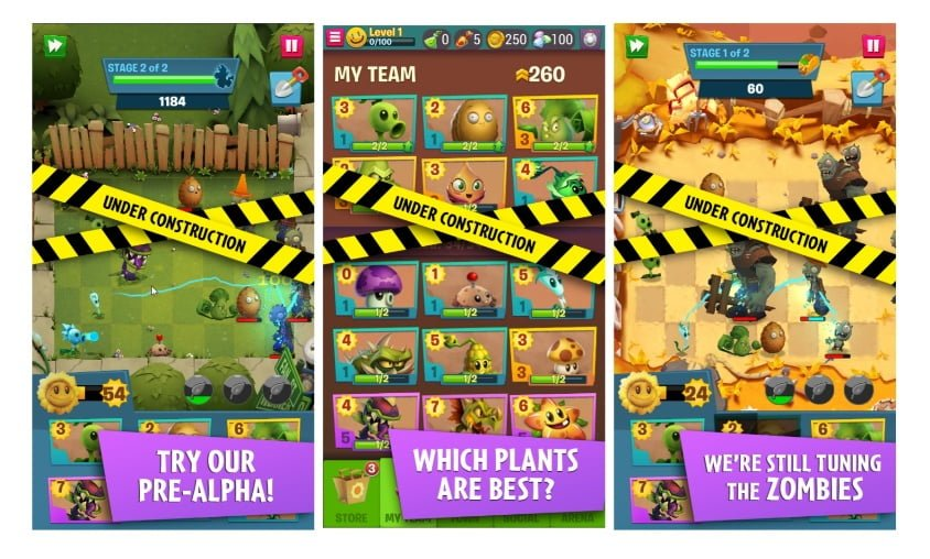 اسکرین شاتهای بازی گیاهان در برابر زامبیها 3