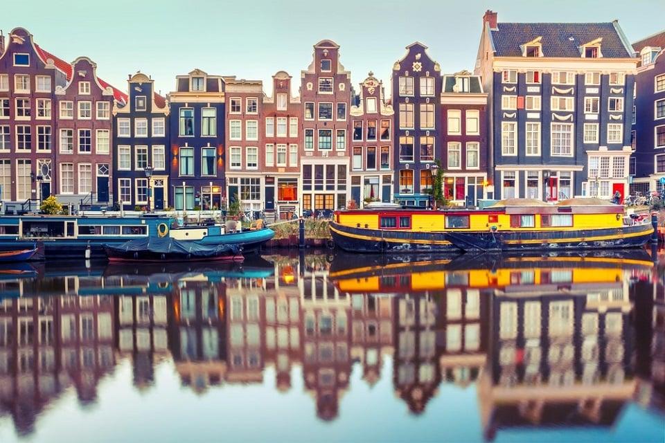 پر ازدحامترین شهرهای اروپا-آمستردام هلند