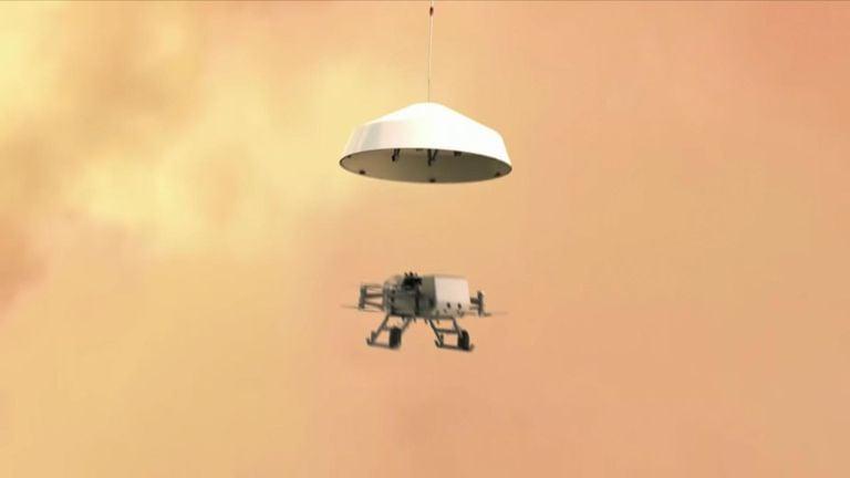 پرواز سنجاقک ناسا به سمت بزرگترین قمر زحل-فرود سنجاقک