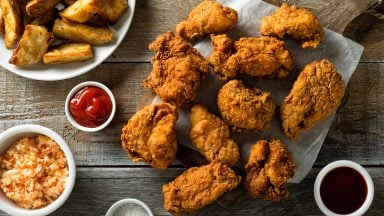 حذف گوشت مرغ