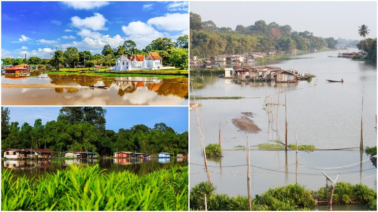فرار از جمعیت تایلند-دهکده شناور: Uthai Thani