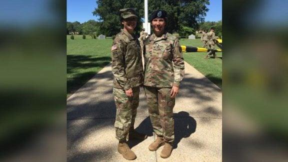 اولین خواهران ژنرال ارتش