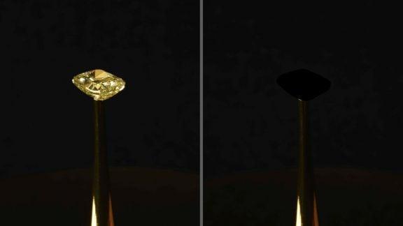 تاریکترین ماده جهان به نام سیاهترین سیاه توسط دانشمندان MIT ساخته شد