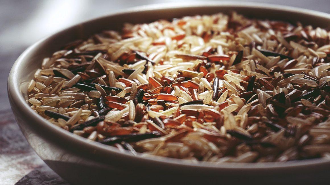 پروتیئن با برنج قهوهای