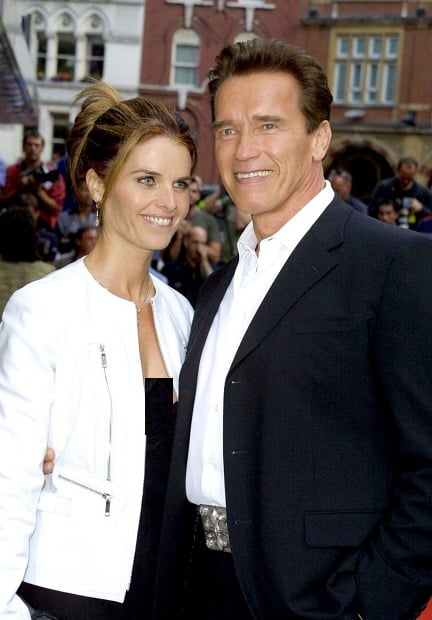 آرنولد شونبرگ و ماریا شرایور