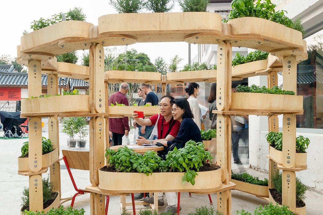 GrowMore در نمایش دوسالانه معماری سئول