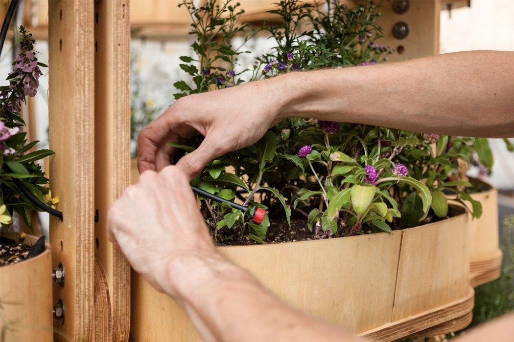 باغچه مدولار هنرمندانه که همراه با شما رشد میکند