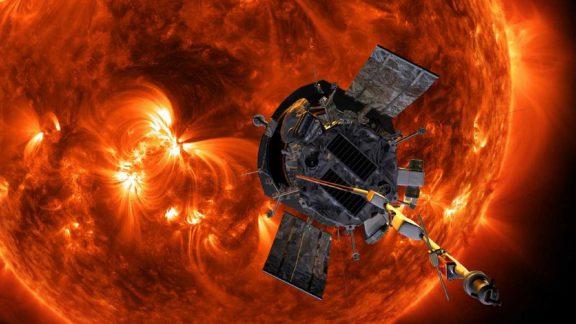پارکر کاوشگر خورشیدی جدید ناسا در حال حرکت به سمت خورشید