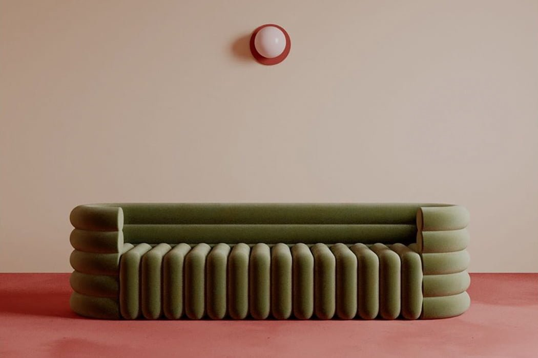 طراحی خیالی و مفهومی کاناپه - Benjamin Guedj