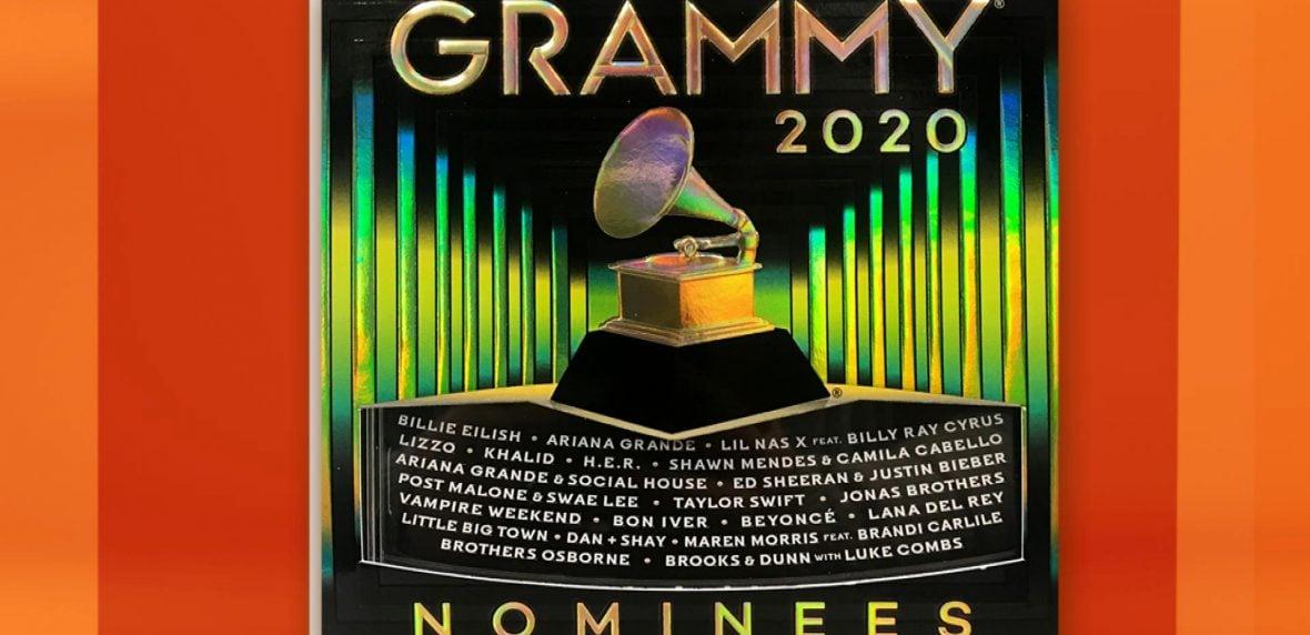 برندگان جوایز گرمی 2020