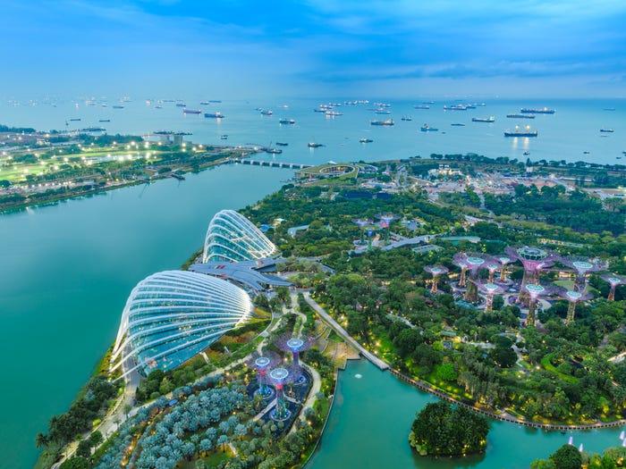 قدرتمندترین پاسپورتهای سال 2020 - سنگاپور