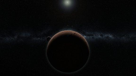 اولین جرم بزرگ منظومه شمسی