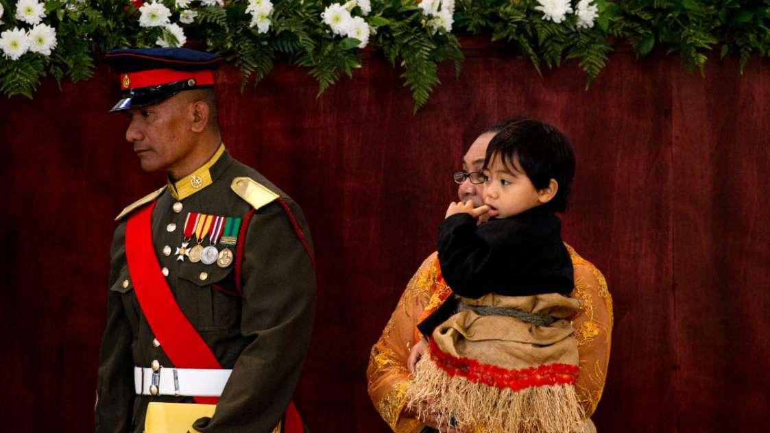 اعضای نسل آینده خاندان سلطنتی - ولیعهد توفاآهو مانوماتاونگو از تونگا