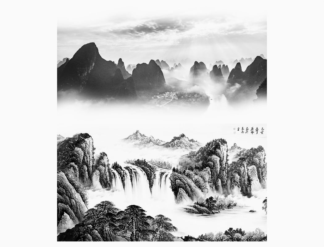 کوههای معروف گویلین (Guilin)