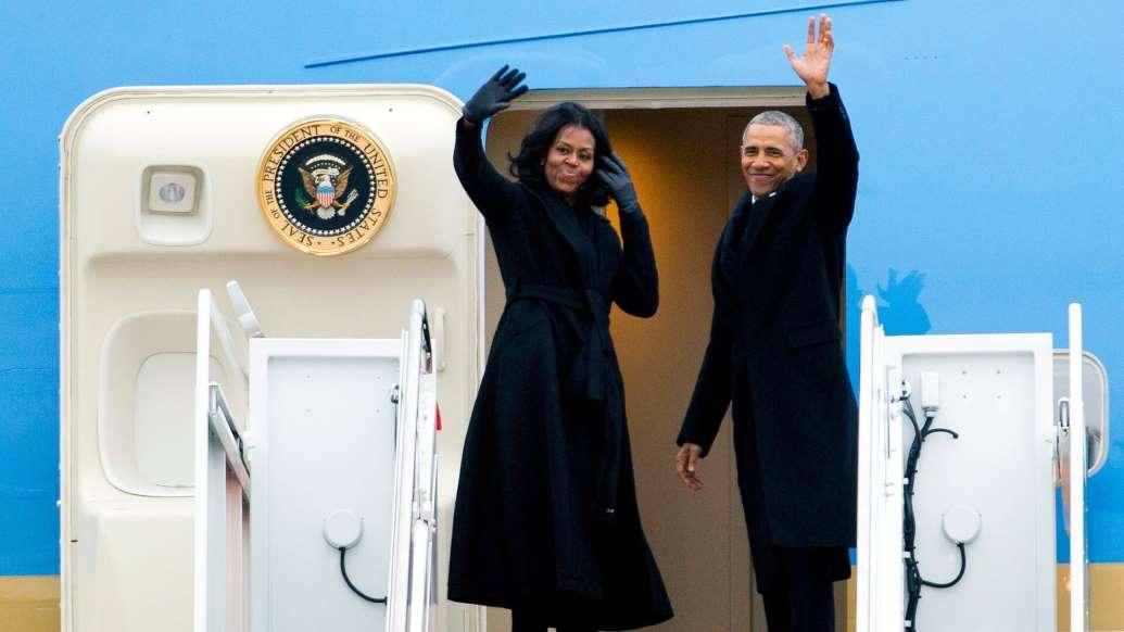ثروتمندترین زوج سلبریتی جهان - 23. میشل اوباما و باراک اوباما